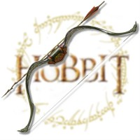 WEAPON - MOVIE - THE HOBBIT - ELVEN BOW AND ARROW OF TAURIEL