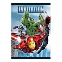 AVENGERS - CARTE D'INVITATION