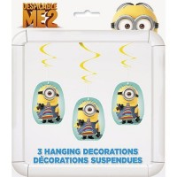 MINION - DÉCORATIONS SUSPENDUES -  DÉTESTABLE MOI