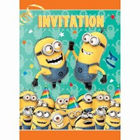 MINION - CARTE INVITATION - DÉTESTABLE MOI