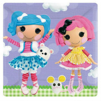 LALALOOPSY - ASSIETTE 10""