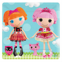 LALALOOPSY - ASSIETTE 7""