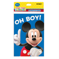 MICKEY MOUSE - CARTE D'INVITATION