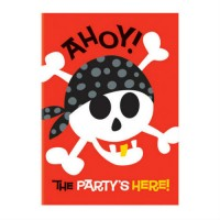 PIRATE FUN - CARTE D'INVITATION