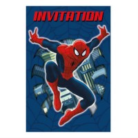 SPIDER-MAN - CARTE D'INVITATION