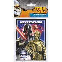 STAR WARS - CARTE D'INVITATION