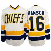 SLAP SHOT - CHIEFS BLANC -  JERSEY HANSON 16