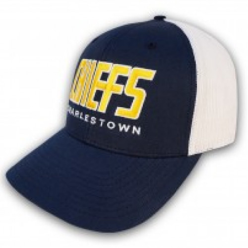 d3efae4d3d685 CAP- CHARLESTOWN CHIEFS. Description  Reviews (0). SlapShot Charlestown  CHIEFS Retro Trucker ...
