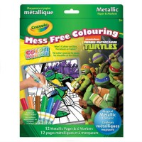 CRAYOLA - COLORIAGE - MESS FREE COLOURING - TMNT