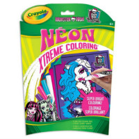 CRAYOLA - COLORIAGE - XTREME COLORING - MONSTER HIGH