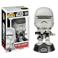 BOBBLE HEAD POP - STAR WARS - FLAMETROOPER