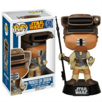 BOBBLE HEAD POP - STAR WARS - LEIA BOUSHH