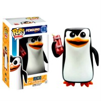 BOBBLE HEAD POP - PINGOUINS DE MADAGASCAR - RICO