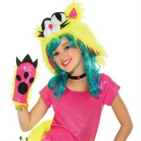 COSTUME - FILLE - PARTY CAT - CHAT