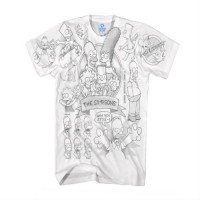 T-SHIRT - CARTOON - LES SIMPSONS