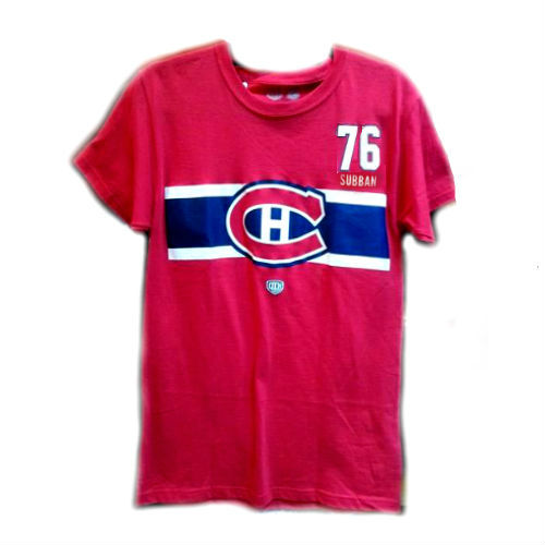 T Shirt Lnh Canadiens De Montreal Subban