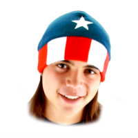 MARVEL - TUQUE - CAPITAINE AMÉRICA